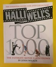 Halliwell's Top 1000 - The Ultimate Movie Countdown [Paperback Book] John Walker