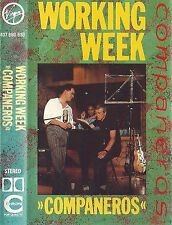 Working Week Compañeros CASSETTE ALBUM Acid Jazz Contemporary Jazz Soul 1986