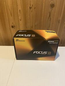 Seasonic FOCUS series SSR-650FM 650W 80 + Gold Power Supply, Semi-Modular