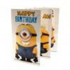 Official Despicable Me Minion Birthday Card Fold Out