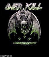 OVERKILL cd cvr WHITE DEVIL ARMORY Official SHIRT XXL 2X New 2-sided