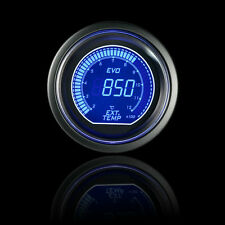 "Blue Red 2"" 52mm EGT Exhaust Gas Temp Car Motor Digital LED Light Gauge Meter"