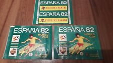 Panini World Cup 1982 * World Cup 82 Espana * 3 X BAG * Pack *** Type: Horizonta...