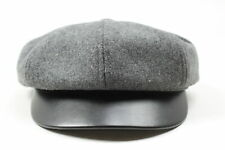 Brixton Unisex Montreal Hat Grey Black M New