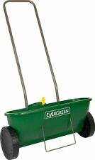 EverGreen Easy Spreader Plus + Garden Lawn Seed Outdoor Fertiliser Spreader