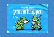 (N1) STURMTRUPPEN -Corno  FIGURINE-STICKERS- Bustina/Packet Piena SEALED