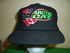 ARCTIC CAT CROOKSTON MN SPORTS Baseball Cap Trucker Hat Retro Rare Unique A