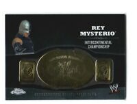 WWE Rey Mysterio 2014 Topps Chrome Championship Belt Plate IC Relic Card