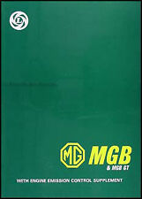MGB and MGB GT Shop Manual MG Repair Service 1962-1976 1968 1969 1970 1971 1972