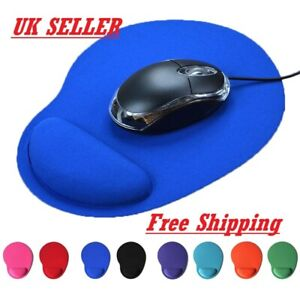 Anti Slip High Quality Mouse Pad With Foam Wrist Rest for Gaming And Office UK