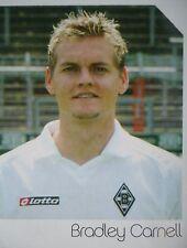 Panini 340 bl fútbol 2003/04 bradley carnell Mönchengladbach