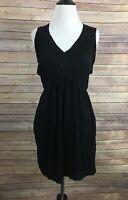 Oonagh Black Sleeveless Dress (Size: XS)