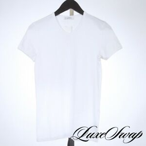 Versace Collection MODERN Stretch Cotton Subtle Medusa Crewneck Tee Shirt S NR