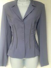 Thierry Mugler Jacket Blazer Lavender Vintage Dead Stock Wasp Waist Wool 38/40
