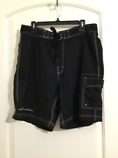 Harley Davidson Men's Board/Beach Shorts With Logo Size L Pre-Owned