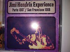 Jimi Hendrix (CD) Paris 1967/San Francisco 1968 2010 Dagger Records