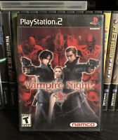 Vampire Night (Sony PlayStation 2, 2001) - Complete & Tested - CIB
