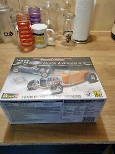 Revell Model A Roadster 1/25 model kit new sealed never opened