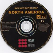 LATEST Gen 4 Lexus Toyota GPS Navigation Map Update DVD Version U30 v 15.1 .