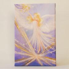 "Spirituelles Engel Wandbild  ""Der Weg der Liebe"" Engelbilder, Lila, Weiß, Bilder"