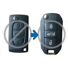Folding Remote Key Shell for CITROEN C2 C3 C4 C5 C6 C8 Case Fob Refit 3 Button