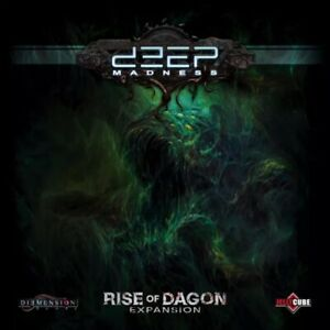 Deep Madness RISE OF DAGON Expansion Diemension Games SEALED NEW!!