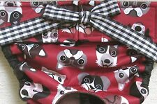 NEW PRODUCT! WATERPROOF LULIBOOS DESIGNER DOG PANTY BRITCHES DIAPER LITTLE DOGS