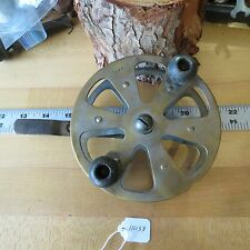 Vintage Antique Brass Salmon trolling fishing reel  C.F.N.T (lot#11433)