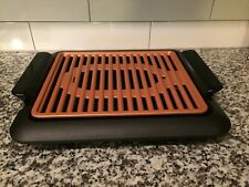 New listing Gotham Steel Electric Smokeless Grill Griddle Scratch Resistant Ceramic Nonstick