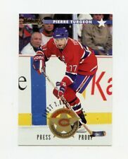 96-97 DONRUSS PRESS PROOF #17 PIERRE TURGEON /2000 CANADIENS *66684