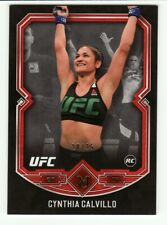 CYNTHIA CALVILLO 2017 TOPPS UFC MUSEUM COLLECTION ROOKIE RC RUBY/RED #18 #20/25