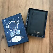Ted Baker Travel Wallet Passport Holder Tour De Space And Time NIB