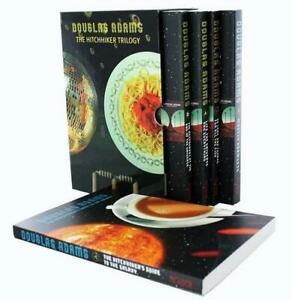 Hitchhikers Guide 5 Books Young Adult Collection Paperback Set By Douglas Adams