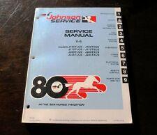 Johnson Service Manual V-6 Sea-Horse Model J150-175-200 -235 TLCS TXCS 1979