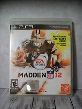Playstation 3 PS3 Video Game - Madden 12 - Football, NFL - With Booklet