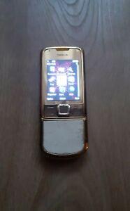 Nokia 8800 Arte Gold (Unlocked) Cellular Phone 1GB Rare Collectible
