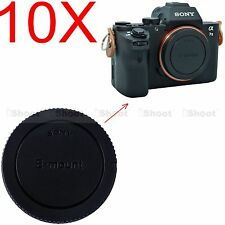 10x Body Cover Cap for Sony Micro SLR Camera NEX 7 6 5 3 5N 5R 5T C3 F3 3N QX1