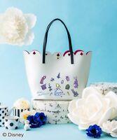 Samantha Thavasa COLORS by Jennifer Sky Disney Alice in Wonderland Tote Bag New