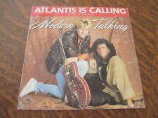 45 tours MODERN TALKING atlantis is calling (s.o.s. for love)