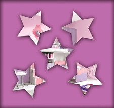Acrylic 'Mini Star' Mirrors - Range of Sizes