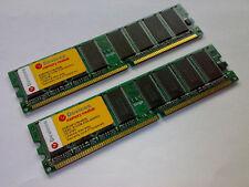 2x eDevices 512 MB DDR RAM PC400 400 MHz 184pin ED53D512TB-400B * 100% OK * LOOK