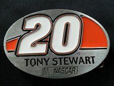 TONY STEWART #20 HOME DEPOT NASCAR BELT BUCKLE BERGAMOT