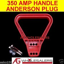 350 AMP HANDLE ANDERSON PLUG DUAL BATTERY CONNECTOR 350a