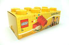 Lego fiambrera 8 encajes amarillo