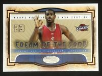 Lebron James, 2003 Fleer, Hot Prospects, Cream of the Crop, ROOKIE CARD RC