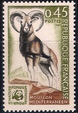 Francia / France. 1969. 0,45 Francs. Mouflon Mediterraneen (Nuevo/New)
