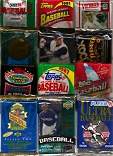 Baseball Bargain Pack Lot - Unsearched Factory Sealed 100 Cards+ UD Topps Fleer