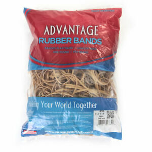 """Advantage Rubber Bands Large Size #33 (3-1/2 x 1/8"""") Heavy Duty Made in USA"""
