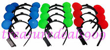 100 PC MINNIE MICKEY MOUSE EARS LIGHT UP HEADBANDS MULTI COLOR PARTY FAVORS CUTE