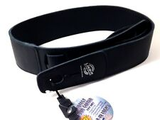LOCK-IT Guitar Strap Black  Soft Leather Patented Locking Technology